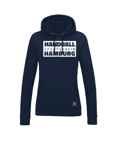 "Hoodie ""Handball Sport Verein Hamburg"" Damen in navy"