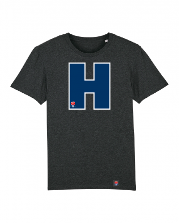 "T-Shirt ""H"" Kids in charcoal"