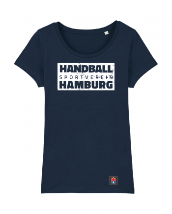 "T-Shirt ""Handball Sport Verein Hamburg"" Damen in navy"