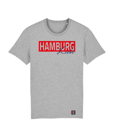 "T-Shirt ""Liebe"" Kids in hellgrau"
