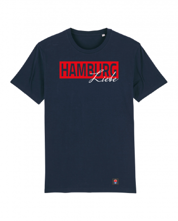 "T-Shirt ""Liebe"" Kids in navy"